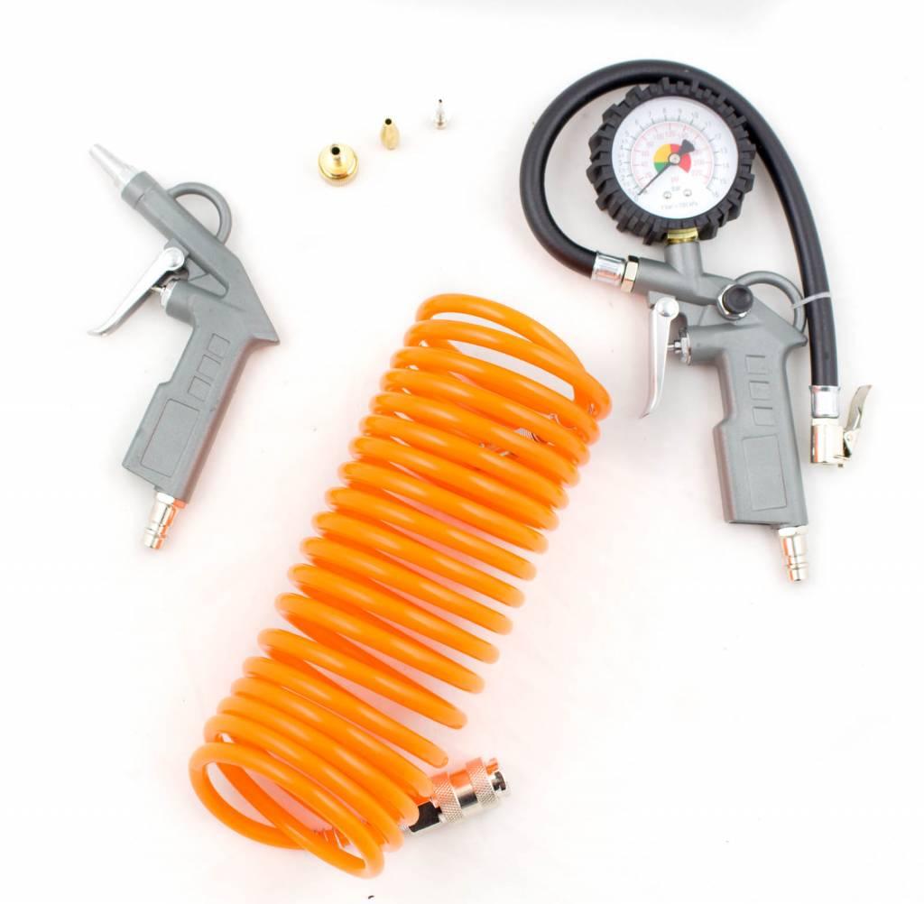 Afbeelding van Airpress compressor accessoiresset 6 delig
