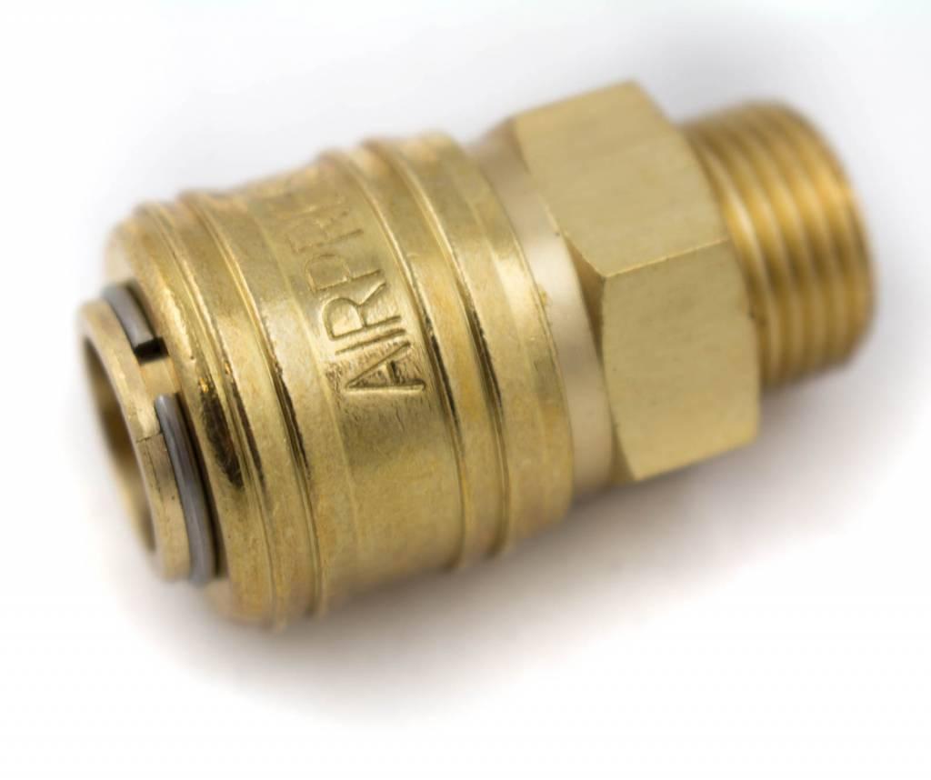 """Afbeelding van Airpress compressor snelkoppeling 3/8"""" uitwendig"""