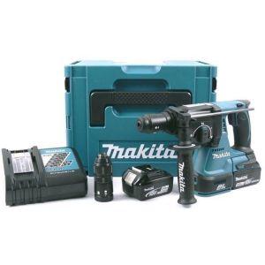 Makita DHR243RTJ 18V accu SDS-PLUS boor- en combihamer set 2x 5.0Ah in Mbox