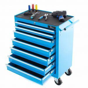 Ragnor Gereedschapswagen 7 laden model blauw