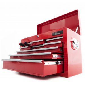 Ragnor gereedschapskist 'Hela' leeg 9 lades rood