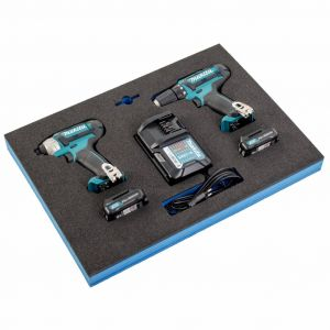 Makita boormachine en slagmoersleutel in module