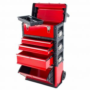 Ragnor gereedschapstrolley rood FX10729