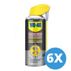 WD-40 Specialist siliconenspray - 400 ml - 6 stuks