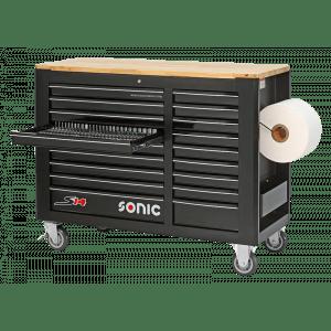 Sonic gereedschapswagen 958-delig 18 lades gevuld
