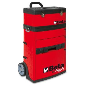 Beta gereedschapstrolley rood C41H-R