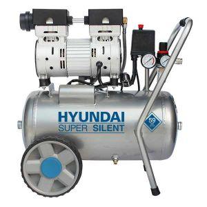Hyundai stille compressor 24L 8 bar