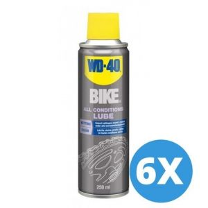 WD-40 Bike all conditions lube - 250 ml - 6 stuks