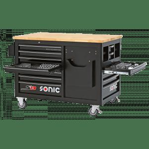 Sonic gereedschapswagen 540-delig 13 lades gevuld