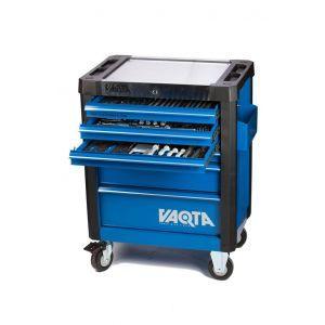 Vaqta gereedschapswagen gevuld met 222 delen