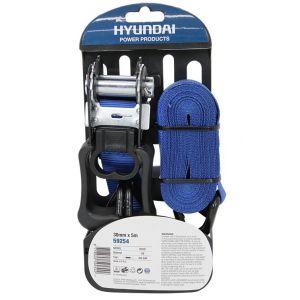 Hyundai spanband met ratel en J-haak 5m x 30 mm