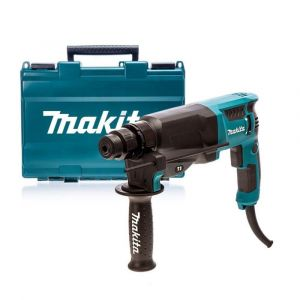 Makita HR2630T SDS-PLUS boor- en combihamer in koffer in koffer 230V
