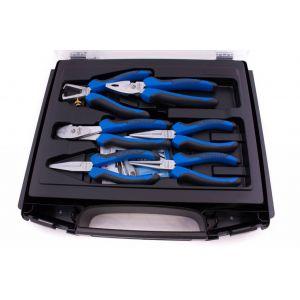 Gedore tangenset 6-delig in i-Boxx blauw tangen