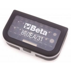 "Beta bitset 30-delig met magnetische bithouder opname 1/2"" transparant"