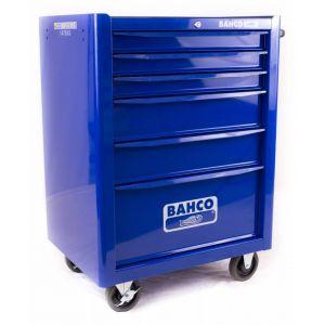 Bahco gereedschapswagen leeg 6-laden blauw