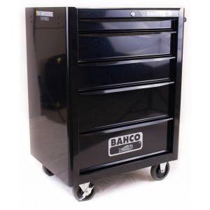 Bahco gereedschapswagen leeg 5-laden zwart