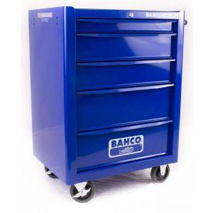 Bahco gereedschapswagen leeg 5-laden blauw