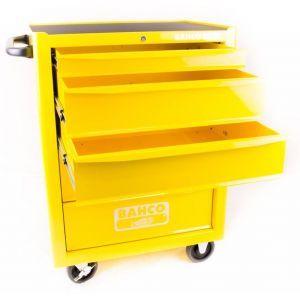 Bahco gereedschapswagen leeg 5-laden geel