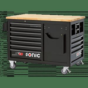 Sonic gereedschapswagen 13 lades leeg