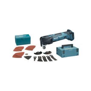 Makita DTM51ZJX2 18V accu multitool body met accessoires in Mbox
