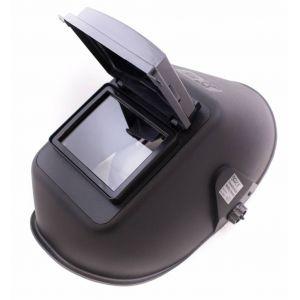 Lasmasker met venster zwart