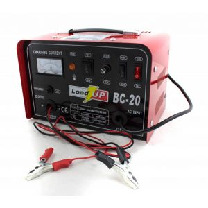 Airpress Load-Up acculader 8A - 12V en 24V voorkant