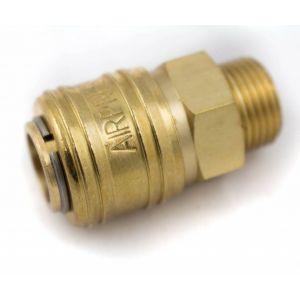 """Airpress compressor snelkoppeling 3/8"""" uitwendig"""