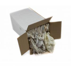 Euro witte trikot doeken in een doos van 5 kg