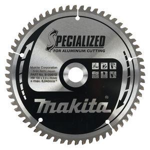 Makita SPECIALIZED ALUMINIUM handcirkelzaagblad 136/150/160/165/190/235 mm