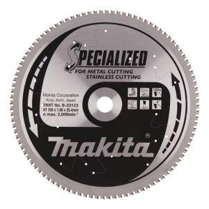 Makita SPECIALIZED METAAL tafel-, afkort- en verstekzaagblad 305 mm