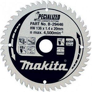 Makita SPECIALIZED LAMINAAT handcirkelzaagblad 136/165/190 mm