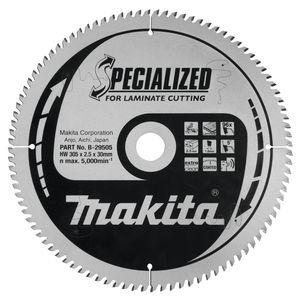 Makita SPECIALIZED LAMINAAT tafel-, afkort- en verstekzaagblad 190/260/305 mm