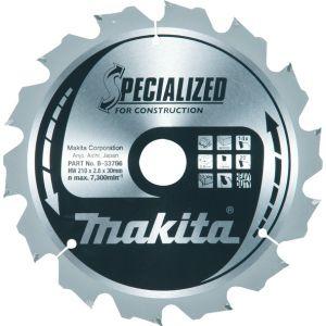 Makita SPECIALIZED CONSTRUCTION handcirkelzaagblad 190/210/235 mm