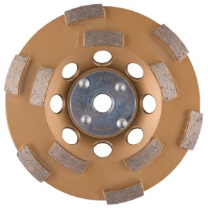 Makita B-48549 M14 diamant komschijf met dubbel segment 125 mm