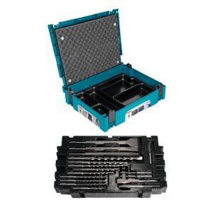 Makita B-52059 17-delige SDS-PLUS boor- en beitelset in Mbox
