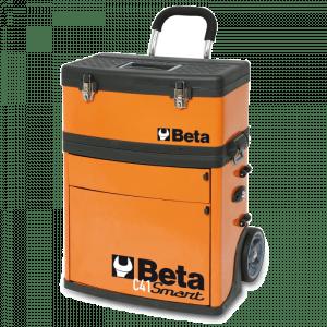 Beta gereedschapstrolley C41S oranje meeneembaar