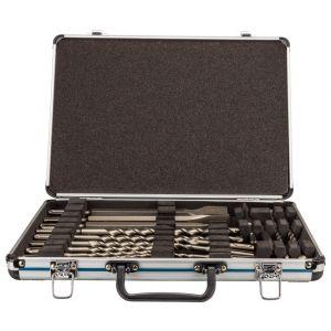 Makita D-42444 17-delige SDS-PLUS boor- en beitelset in koffer