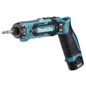 Makita DF012DSJ 7,2V accu boor- en schroefmachine set 2x 1,5Ah in Mbox