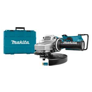 Makita DGA901ZKU 2x 18V accu 230 mm haakse slijper body in koffer