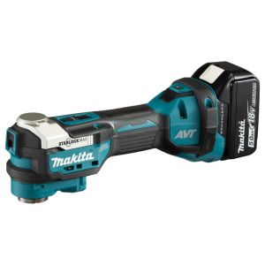 Makita DTM52RTJX1 18V accu multitool set + accessoires 2x 5.0Ah in Mbox