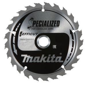 Makita SPECIALIZED ACCU en EFFICUT handcirkelzaagblad 85/136/150/165/190/235/236/305 mm