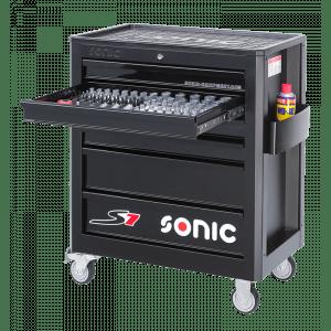 Sonic gereedschapswagen 241-delig 6 lades