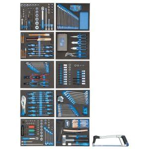 Gedore gereedschapsassortiment in es-modules 308-delig