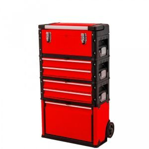 Ragnor gereedschapstrolley rood FX10510 gereedschapdeal prijstechnisch