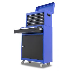 Ragnor gereedschapswagen5-lades blauw'Sif'
