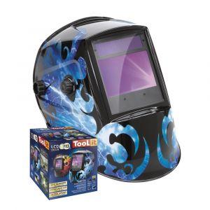 Automatische lashelm GYS Zeus LCD 5-9/9-13G kleur blauw