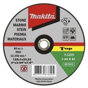 Makita doorslijpschijf steen 125 / 180 / 230 / 305 mm 1 stuk