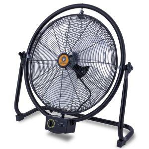 Centurius Professionele ventilator met beugel Zijaanzicht
