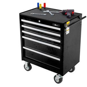 Ragnor gereedschapswagen 5 laden - zwart