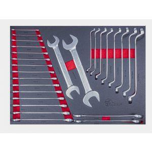 Ragnor gereedschapsmodule sleutelset 27-delig ''Professional Line'' moersleutels gereedschapdeal prijstechnisch